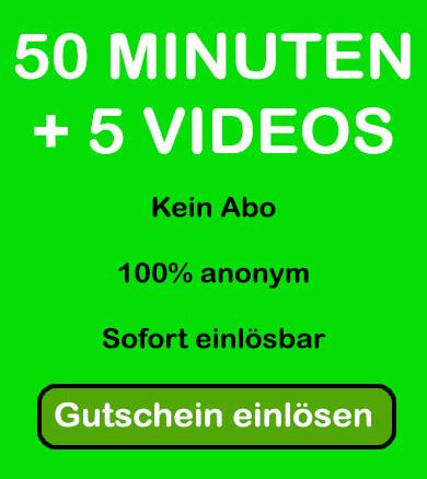 50 Minuten und 5 Videos gratis