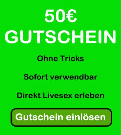 Erotikchat kostenlos testen mit einem 50€ Gutschein